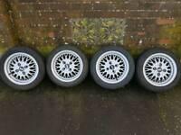 Bbs style wheels