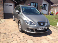 seat altea xl stylance hdi dsg gearbox 2008 5dr hatchback,alloy wheelshigh spec car.