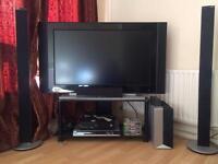 Philips surround sound speakers £300 plus 48 inch tv
