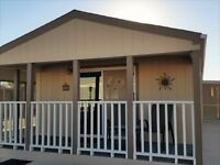 SUNRISE and SUNSETS in this Front Porch Manufactured Home