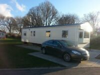 Flamingo Land Luxury Caravan for rent £100 deposit secures your stay