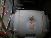 30HP Used Brook Motor 3 Phase