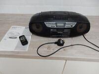 Panasonic Radio, Cassette, CD Player Model RX-DS17