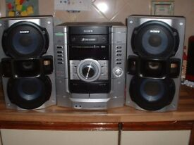 SONY. HI SPEC MUSIC SYSTEM AS NEW