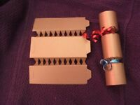 Christmas crackers to make yourself