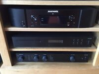Hi fi - Audiolab 8200a, 8200cd, marantz na6005 with bowers and wilkins 685 S2 stereo system
