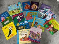 Bundle of children's books inc peppy pig osbourne