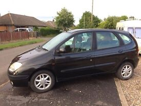 FOR SALE 02 Renault Scenic Fidji £800 (would be open to sensible offers)