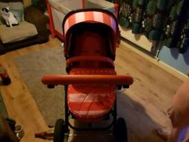 Pram and push chair