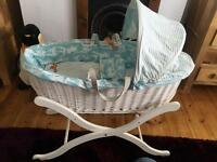 Joules Baby Moses basket