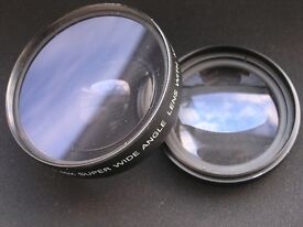 wide and telephoto lenses