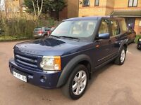 LHD LEFT HAND DRIVE LAND ROVER DISCOVERY 3 HSE 2.7 TDV6 CREME INTERIOR IMMACULATE CONDITION SAT NAV