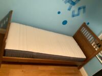 IKEA Bunk Beds with 1 excellent mattress with cover
