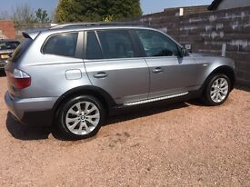 BMW X3 3.0D SE Automatic (1 owner from new)