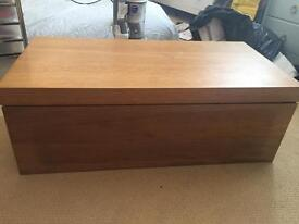 Side/Coffee table with sliding top REDUCED