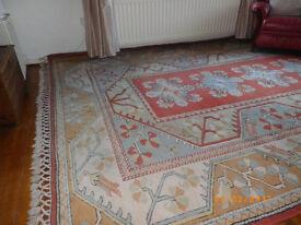 Turkish Milas numbered carpet