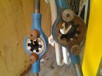 Engineering / electricians, pipefitters conduit dies 50mm, 32mm