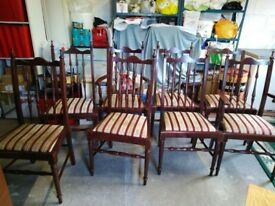 Used Dining Chairs x 8