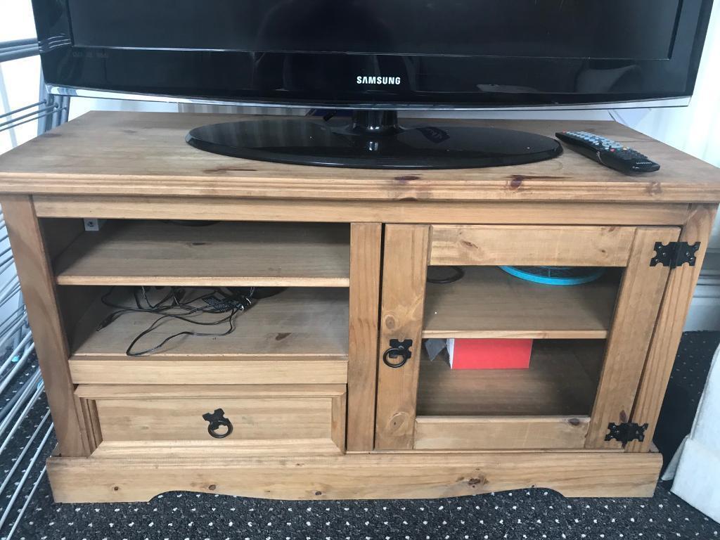 Wooden TVs stand