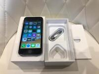 iPhone 5S 16GB Black Grey EE Virgin Asda BT Mobile Excellent Condition Boxed with Charging Lead