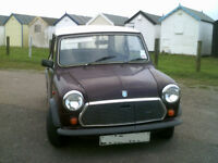AUSTIN MINI CITY 998 CC LONG MOT AUTOMATIC DRIVE AWAY BARGAIN 1987