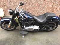 Harley Davidson Fatboy Special, 2012 Dark custom, blacked out 1690cc, 103ci