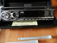 JVC , KD-PDR31 faceoff model CD Player (with remote ).