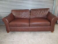 Genuine Marks & Spencer Full Leather 3+2-seater Suite (Sofa)