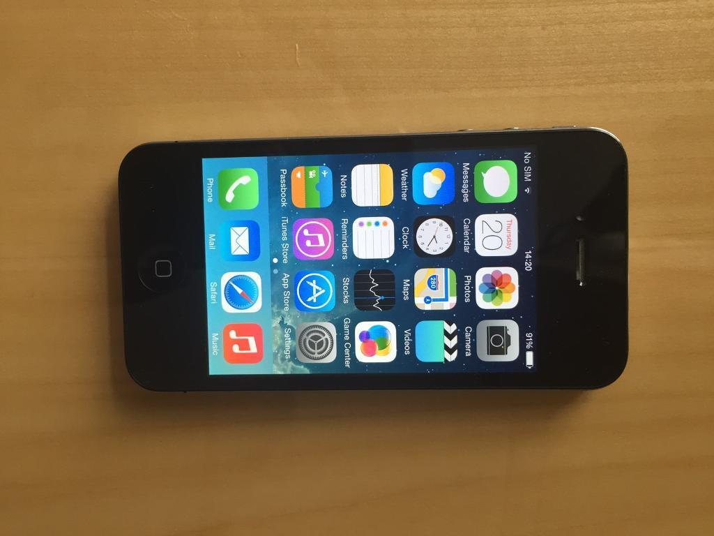 iPhone 4 Vodafone/ Lebara Good conditionin Milton Keynes, BuckinghamshireGumtree - iPhone 4 Vodafone 16GB fully working Screen is goodWorks great Ideal first phone Can deliver £45 no offers