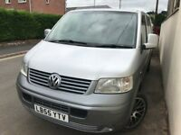 VW T5 Transporter with Rock & Roll Bed, Leisure battery & fridge