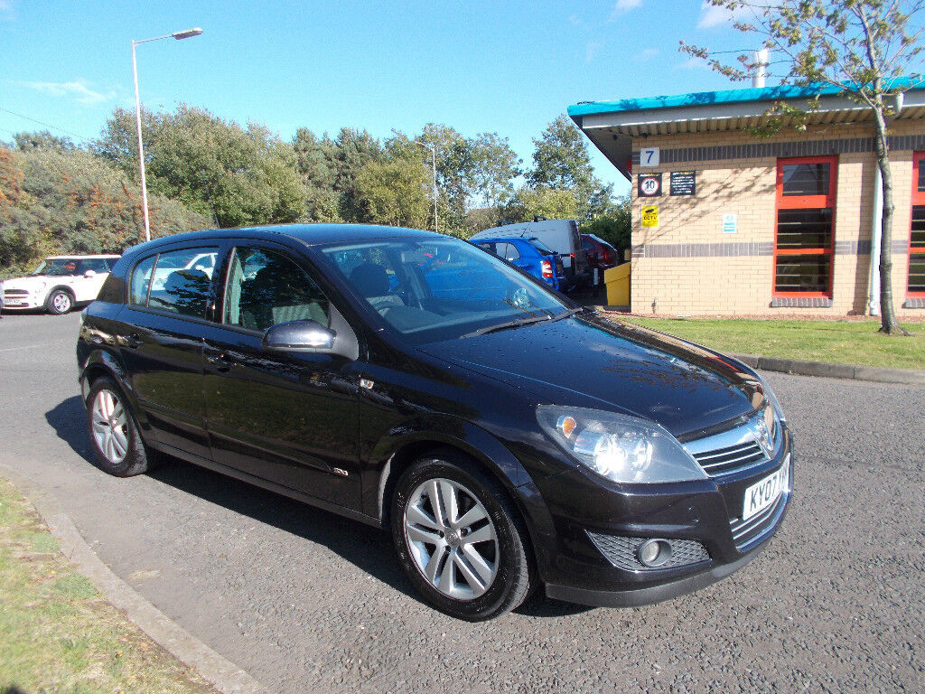 VAUXHALL ASTRA 1.7 CDTI DIESEL SXI HATCHBACK 5 DOOR NEW SHAPE 2007 BARGAIN £1395 *LOOK* PX/DELIVERY