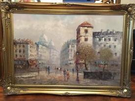 Oil on canvas Caroline Burnett