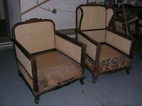 Need your antique chair caned