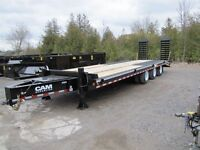 2015 CAM Superline 25ton Equipment Trailer