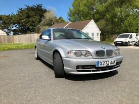 BMW 330ci 2000 Silver Coupe