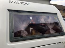 Rapido 2 Berth Pop Top caravan with motor mover.