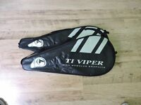 TI Viper Tennis Rackets and Tennis Balls