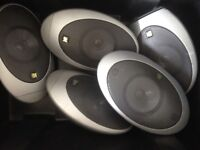 Kef surround sound speakers