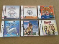 Nintendo DS games, all boxed complete.