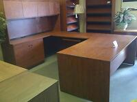 MANY DESKS FOR SALE...LARGE AND SMALL...NEW & USED