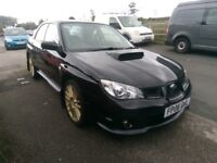 subaru impreza wrx . very low mileage, excellent condition inside and out, 18inch prodrive alloys
