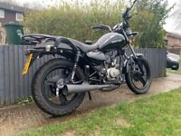 Zontes TIGER 50cc 2016 learner legal geared motorbike new mot vgc