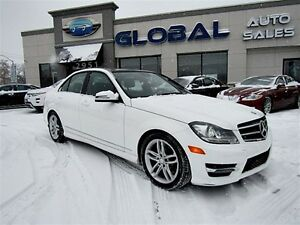 2014 Mercedes-Benz C-Class C300 4MATIC LOW MILEAGE SUPER CLEAN