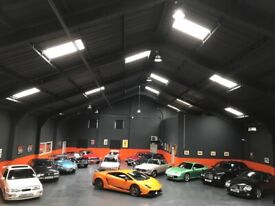 Car storage indoor prestige classic and vintage
