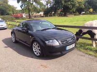 2003 Audi TT 1,8 litre 3dr 2 owners