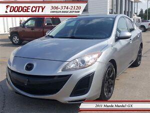 2011 Mazda MAZDA3 GX | FWD | PST PAID