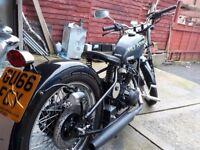 125cc bobber style.