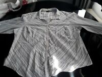 Ladies plus size grey and silver blouse, size 24