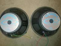 Speaker drivers (spairs or repairs)