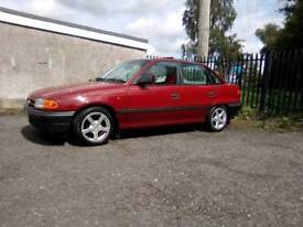 1992 VAUXHALL ASTRA 1 4 LS MINT WITH 10 MONTHS MOT